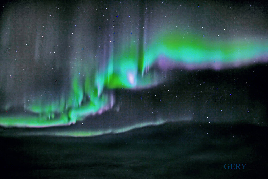 The Northern Lights by Gery