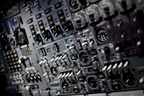 Concorde control panels