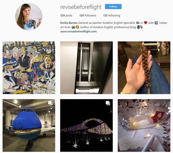 Instagram revisebeforeflight screenshot