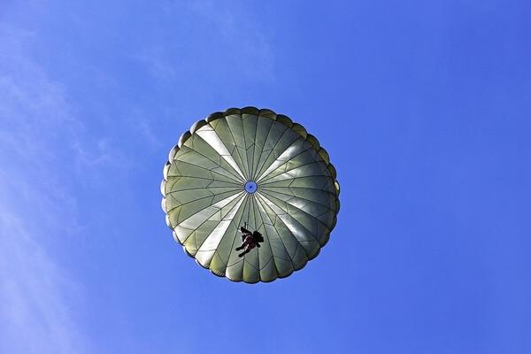 A military free fall