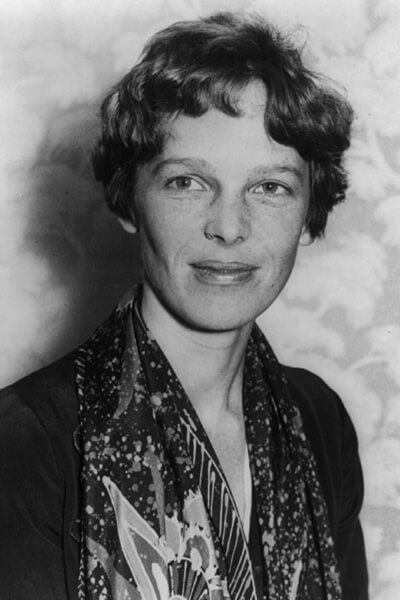 Amelia Earhart the legendary aviatrix
