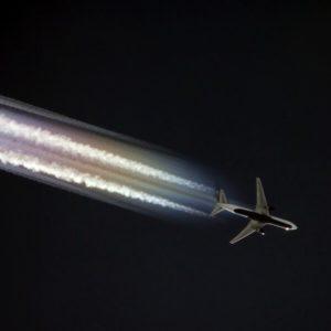 Iridescence Boeing 767