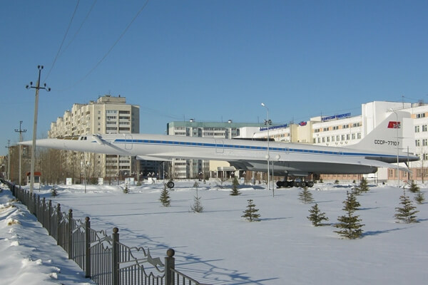 Tupolev Tu-144 CCCP 77107 in Kazan, Russia