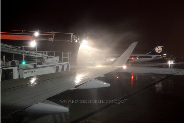 The deicing procedure
