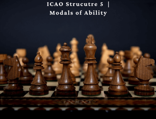 ICAO Structure Level 5: Modals of Ability