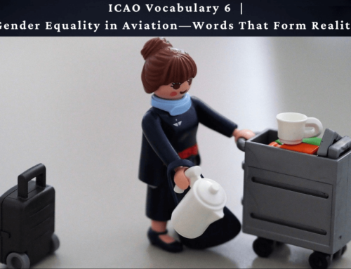 Gender Equality in Aviation—Words That Form Reality